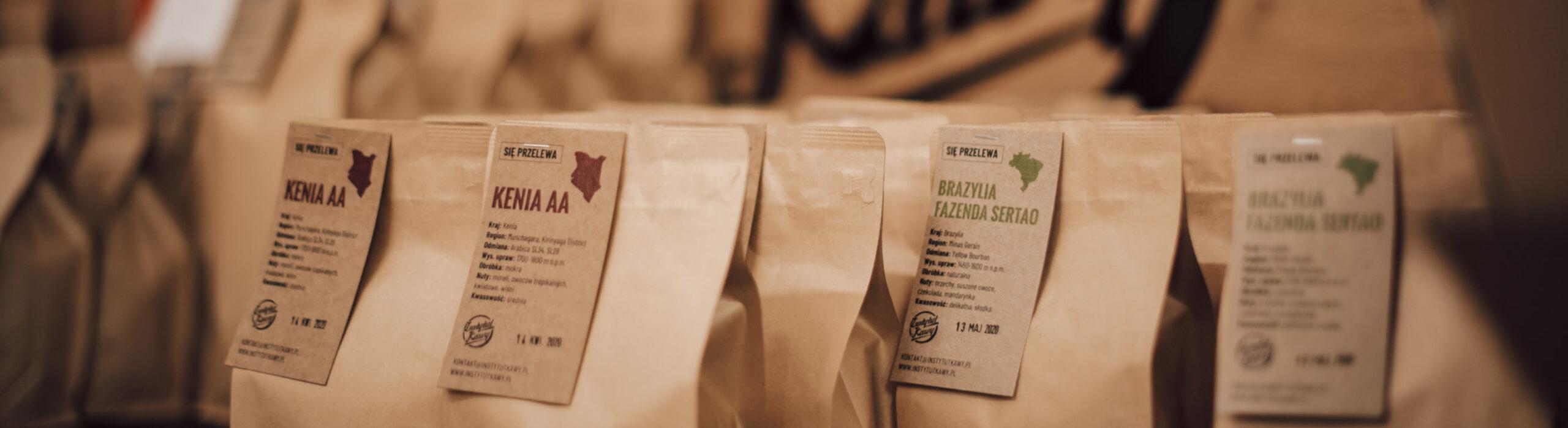 Instytut Kawy - torebki z kawą